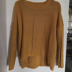 Yellow sweater, size M, good condition